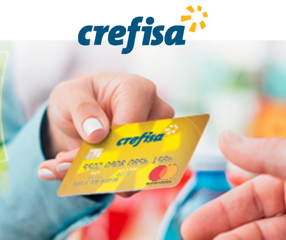 Cartão de Crédito para negativado Crefisa