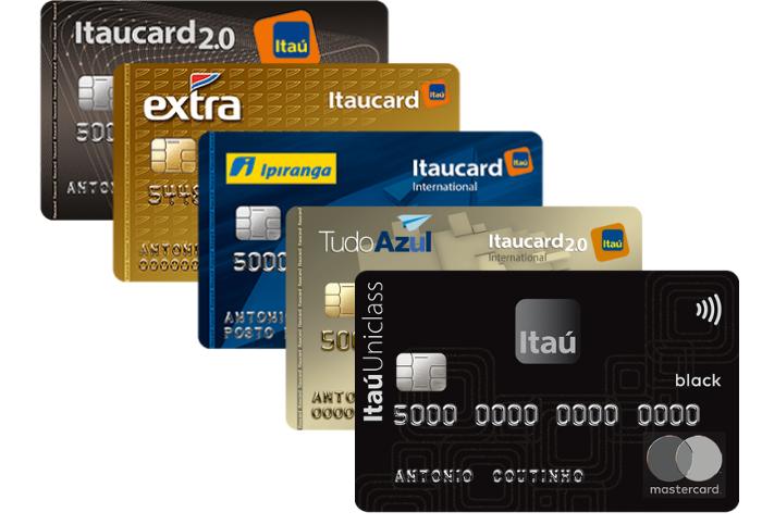 cartão de crédito itau