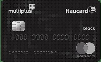 Cartão Multiplus Itaucard Mastercard Black