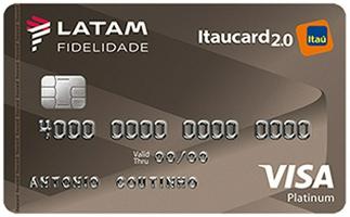 Cartão Latam Itaucard 2.0 Platinum Visa