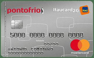 Cartão PontoFrio Itaucard 2.0 Nacional Mastercard