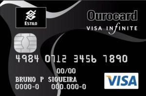 Cartão Ourocard Visa Infinite