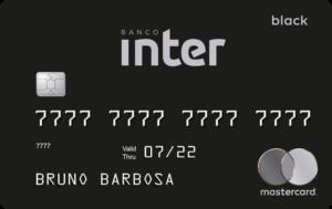 Cartão Inter Mastercard Black
