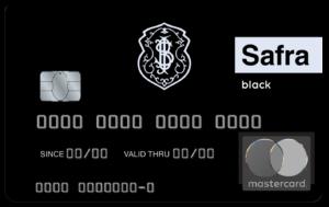 Cartão Safra Mastercard Black