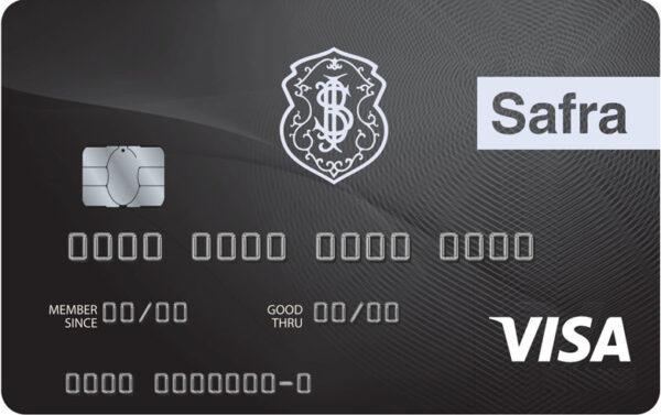 Cartão Safra Visa Infinite