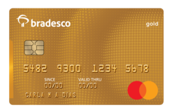 Cartão Bradesco Mastercard® Gold