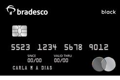 Cartão Bradesco Mastercard Black