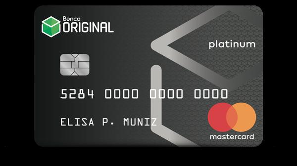 cartão original internacional