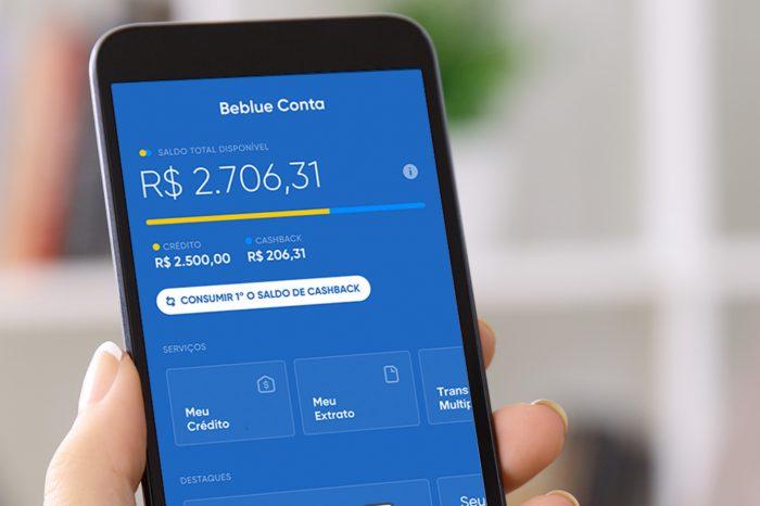 Beblue lança cartão de crédito digital
