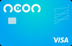 Cartão Neon Visa