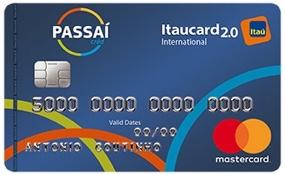 Cartão Passaí Itaucard 2.0 Internacional