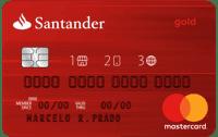 Cartão Santander 1 2 3 Mastercard Internacional