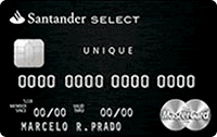 Cartão Select Unique Mastercard Black Internacional