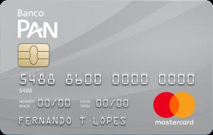 Cartão de Crédito Banco PAN MasterCard Platinum