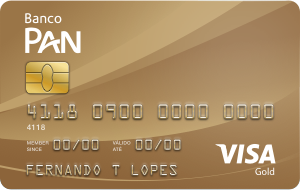 Cartão de Crédito Banco PAN Visa Gold