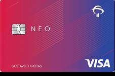 Cartão Bradesco Neo Visa Internacional