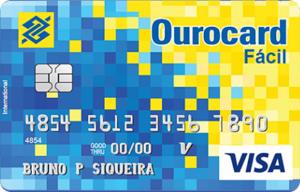 Cartão Banco do Brasil Ourocard Fácil