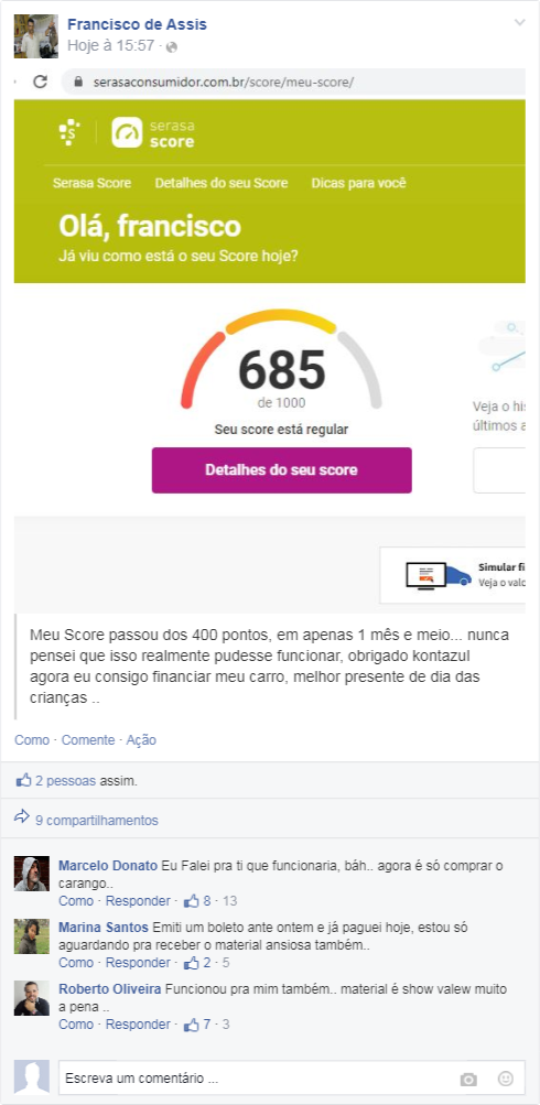 guia do score alto download
