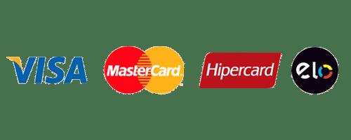 bandeira dos cartões de crédito