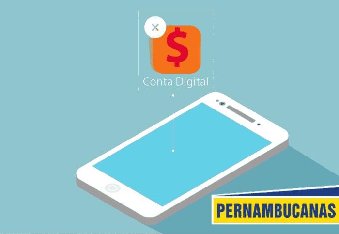 Conta digital Pernambucanas