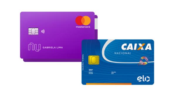 cartão de crédito Nubank x Cartão de Crédito Caixa