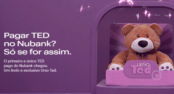 código do Nubank para Transferência Bancária TED ou DOC