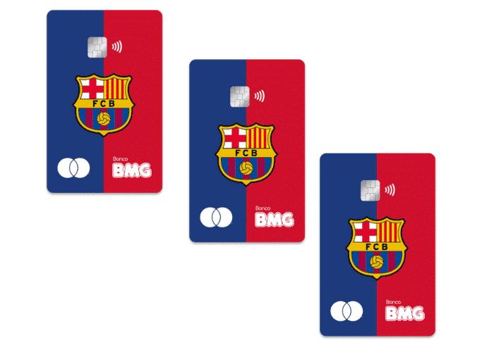Cartão do Barça BMG