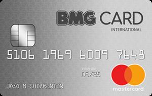 Cartão BMG MasterCard Internacional