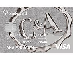Cartão C&A Bradescard Visa