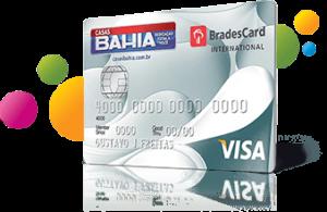 Cartão de Crédito Casas Bahia Visa Internacional