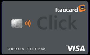 Cartão Itaucard Click Visa Internacional