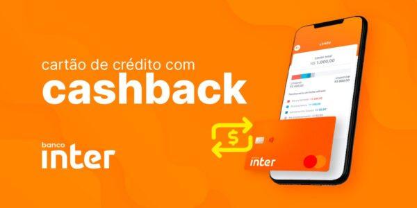 cashback pelo Banco Inter