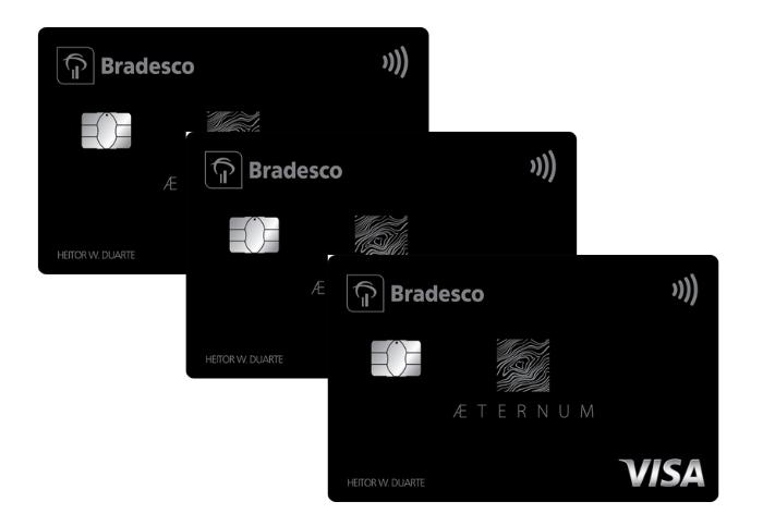 cartão de crédito Bradesco Aeternum Visa Infinite