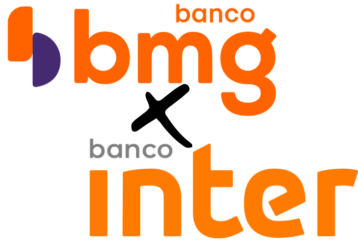 cartão BMG e o do Banco Inter