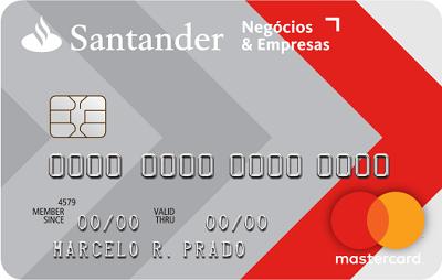 Cartão de Crédito PJ Santander